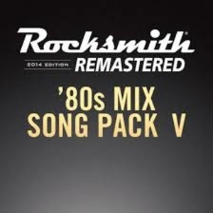 Acheter Rocksmith 2014 80s Mix Song Pack 5 Clé CD Comparateur Prix