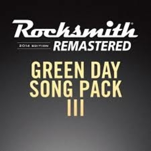 Rocksmith 2014 Green Day Song Pack 3