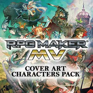 RPG Maker MV Cover Art Characters Pack