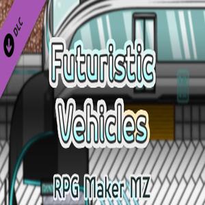 RPG Maker MZ Futuristic Vehicles