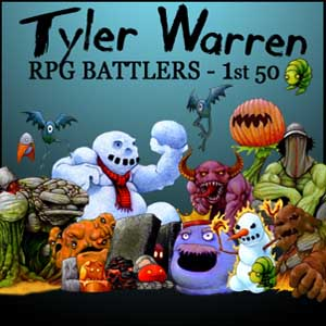 Acheter RPG Maker Tyler Warren First 50 Battler Pack Clé Cd Comparateur Prix