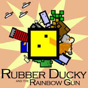 Rubber Ducky and the Rainbow Gun