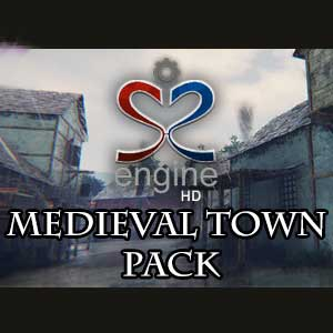 S2ENGINE HD Medieval Town Pack