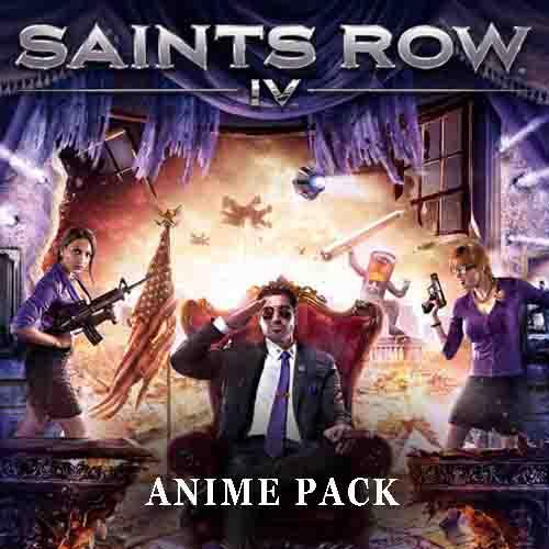 Acheter Saints Row 4 Anime Pack Clé Cd Comparateur Prix