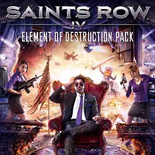 Acheter Saints Row 4 Element Of Destruction Pack Clé Cd Comparateur Prix
