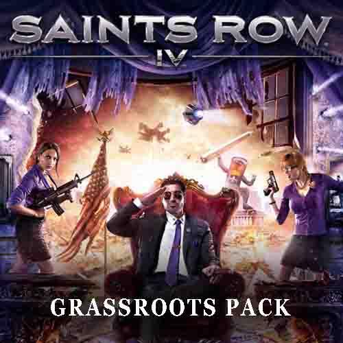 Acheter Saints Row 4 Grassroots Pack Clé Cd Comparateur Prix