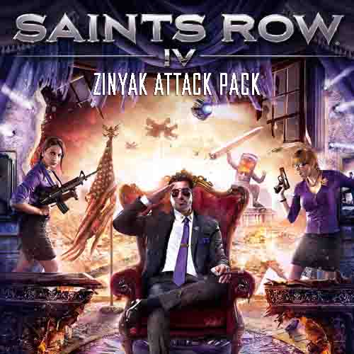 Acheter Saints Row 4 Zinyak Attack Pack Clé Cd Comparateur Prix