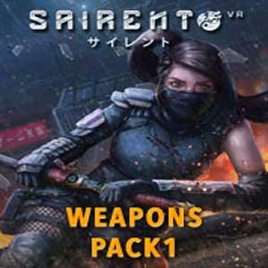 Acheter Sairento VR Weapons Pack Clé CD Comparateur Prix