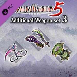 SAMURAI WARRIORS 5 Additional Weapon set 3