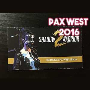 Shadow Warrior 2 Pax West Ninja