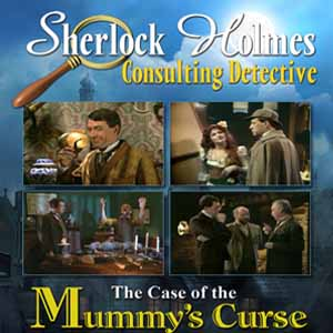 Sherlock Holmes Consulting Detective The Case of the Mummys Curse