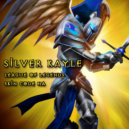 Silver Kayle League Of Legends Skin Code NA