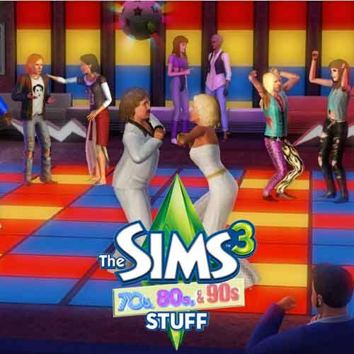 Acheter Sims 3 70's, 80's, 90's Kit clé CD Comparateur Prix