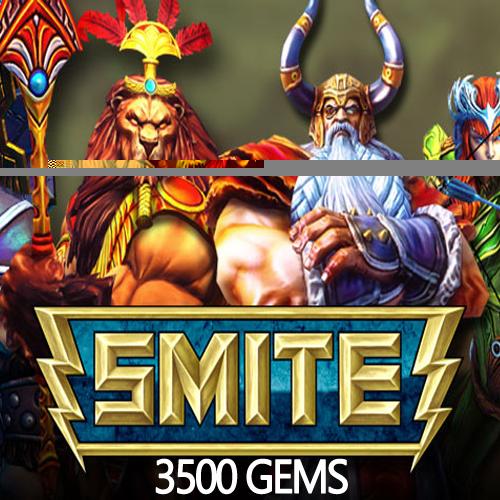 Acheter SMITE 3500 Gems Gamecard Code Comparateur Prix