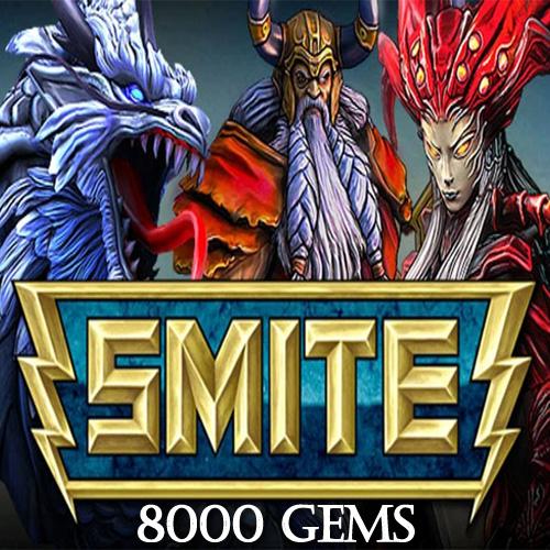 Acheter SMITE 8000 Gems Gamecard Code Comparateur Prix