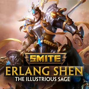 SMITE Erlang Shen and Erlang Shen Illustrious Skin