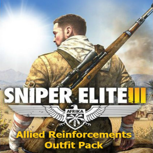 Acheter Sniper Elite 3 Allied Reinforcements Outfit Pack Clé Cd Comparateur Prix