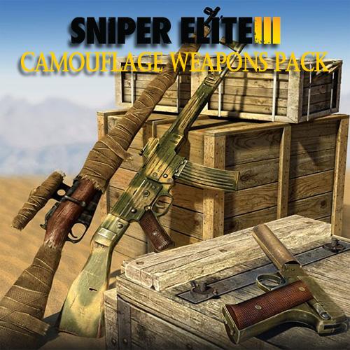 Acheter Sniper Elite 3 Camouflage Weapons Pack Clé Cd Comparateur Prix