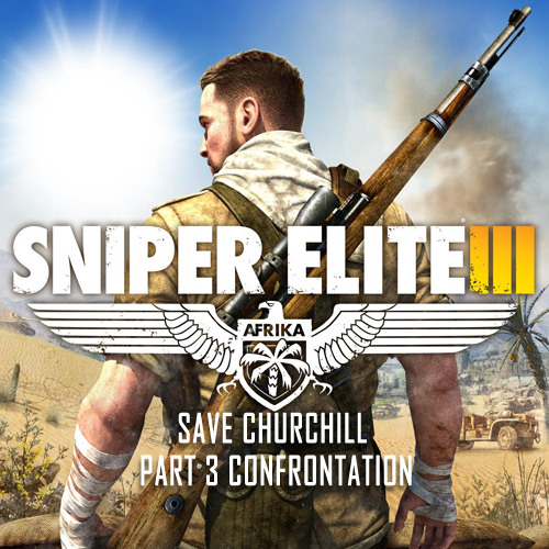 Sniper Elite 3 Save Churchill Part 3 Confrontation