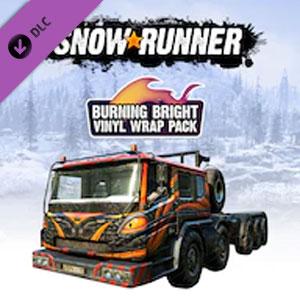Acheter SnowRunner Burning Bright Vinyl Wrap Pack Clé CD Comparateur Prix