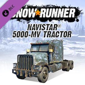 Acheter SnowRunner Navistar 5000-MV Tractor Clé CD Comparateur Prix