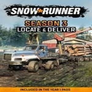 Acheter SnowRunner Season 3 Locate and Deliver Xbox Series Comparateur Prix