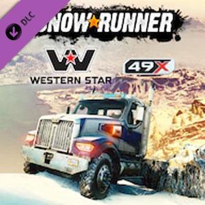 Acheter SnowRunner Western Star 49X Clé CD Comparateur Prix
