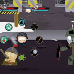 South Park the Stick of Truth Combat