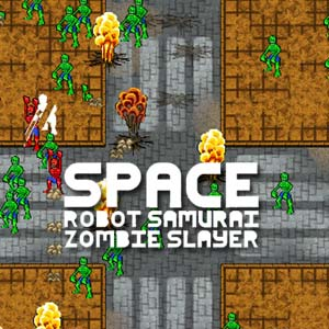 Space Robot Samurai Zombie Slayer