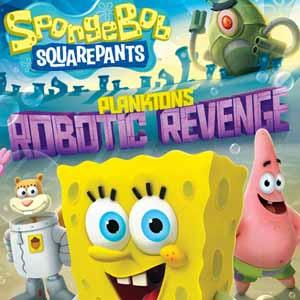 Acheter SpongeBob SquarePants Plankton Fiese Robo Revenge Xbox 360 Code Comparateur Prix