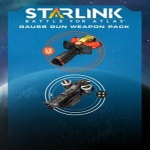 Starlink Battle for Atlas Gauss Gun Weapon Pack