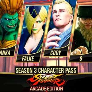 Street Fighter 5 Season 3 Character Pass