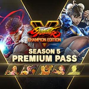 Street Fighter 5 Season 5 Premium Pass