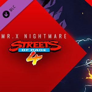 Acheter Streets Of Rage 4 Mr. X Nightmare Clé CD Comparateur Prix