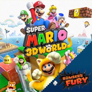 Acheter Super Mario 3D World + Bowser's Fury Nintendo Switch comparateur prix
