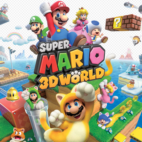 Acheter Super Mario 3D World Download Code Nintendo Wii U Comparateur Prix