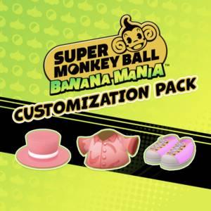 Super Monkey Ball Banana Mania Customization Pack