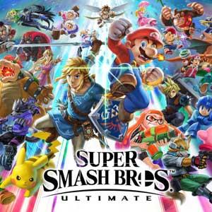 Acheter Super Smash Bros Ultimate Nintendo Switch comparateur prix