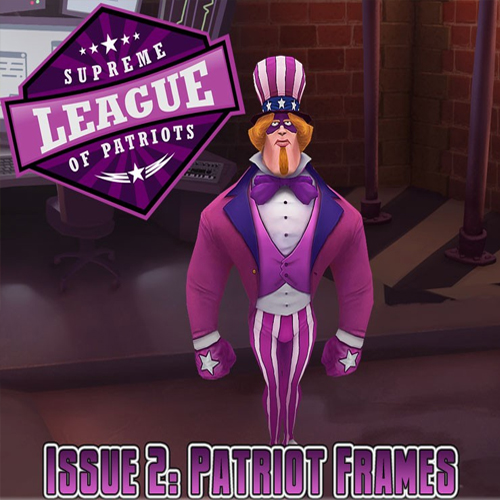 Supreme League of Patriots Episode 2 Patriot Frames