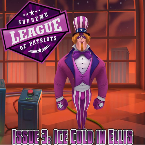 Supreme League of Patriots Episode 3 Ice Cold in Ellis
