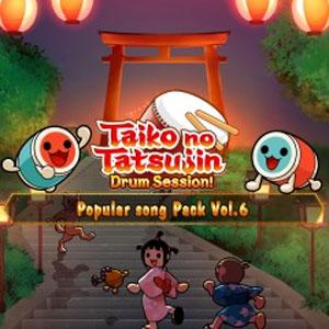Taiko no Tatsujin Popular Song Pack Vol 6