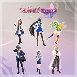 Tales of Berseria High School Costumes Set