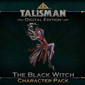 Talisman Black Witch Character Pack