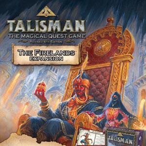 Acheter Talisman The Firelands Expansion Clé CD Comparateur Prix