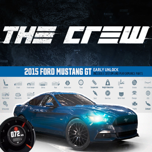 Acheter The Crew 2015 Ford Mustang GT Fastback Street Edition Clé Cd Comparateur Prix