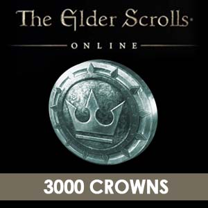 Acheter The Elder Scrolls Online 3000 Crowns Clé Cd Comparateur Prix