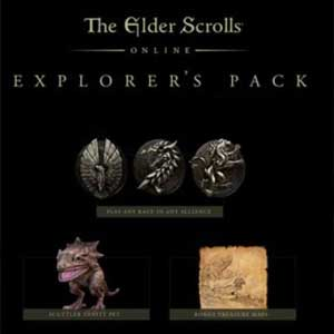 Acheter The Elder Scrolls Online Explorers Pack Xbox One Code Comparateur Prix