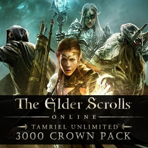 The Elder Scrolls Online Tamriel Unlimited 3000 Crown Pack