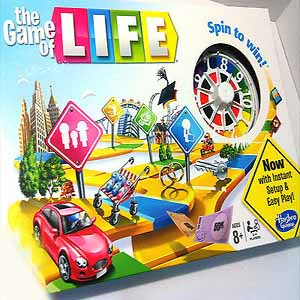 THE GAME OF LIFE Spin to Win