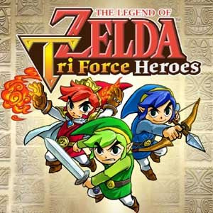 Acheter The Legend of Zelda Tri Force Heroes Nintendo 3DS Download Code Comparateur Prix